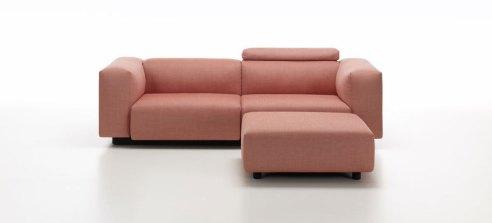 Soft Modular Sofa by Jasper Morrison for Vitra, Salone Del Mobile 2016 | #Milantrace2016