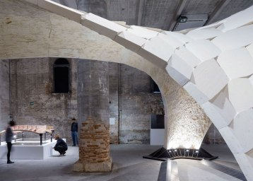Armadillo Vault Beyond Bending Block Research Group Eth Zurich. Photo by Iwan Baan   Yellowtrace