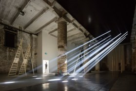 Introductory Room at Arsenale. Photo by Laurian Ghinitoiu   Yellowtrace