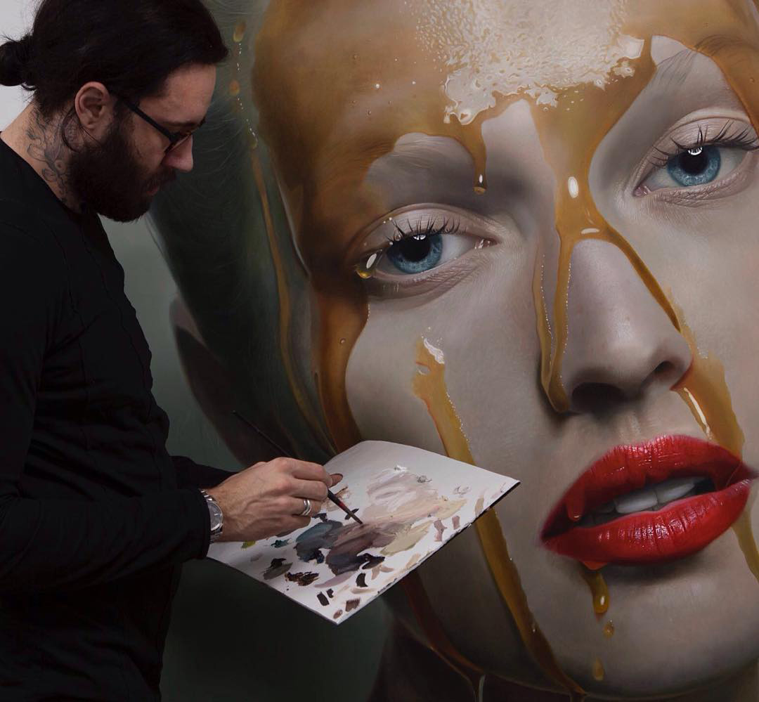 Arresting Hyperrealistic Portraits By Mike Dargas
