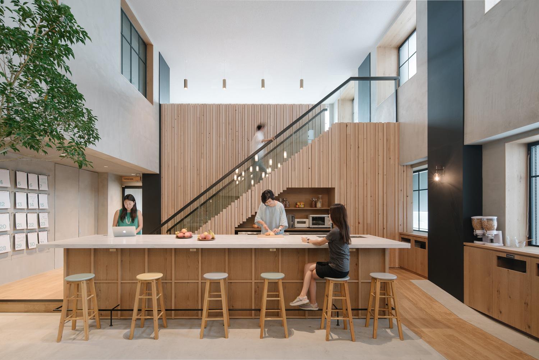 Mezzanine Floor Plan Open Concept