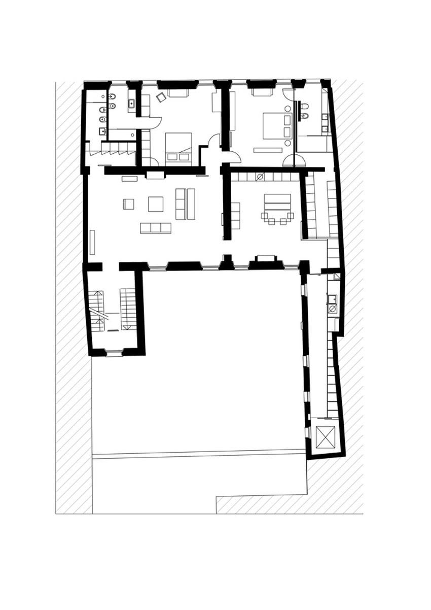 Archi Plan casa rj in mantua, italyarchiplan studio | yellowtrace