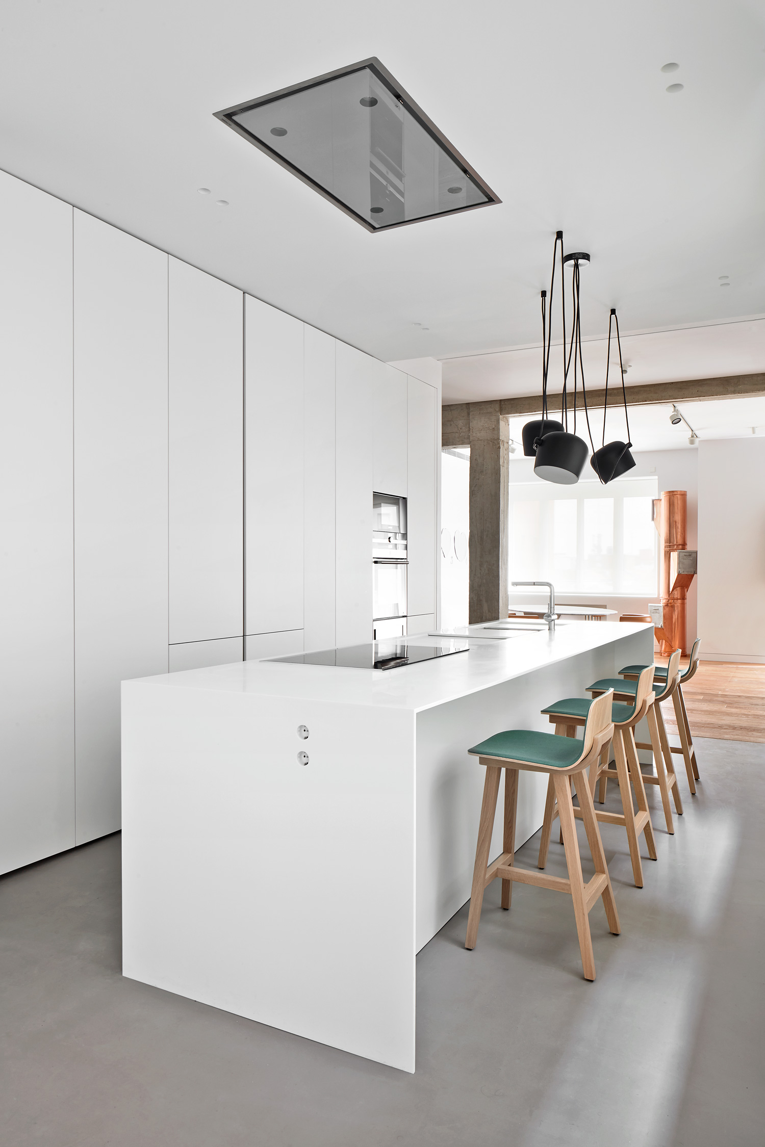Modernist Apartment Renovation In Madrid By Lucas Y