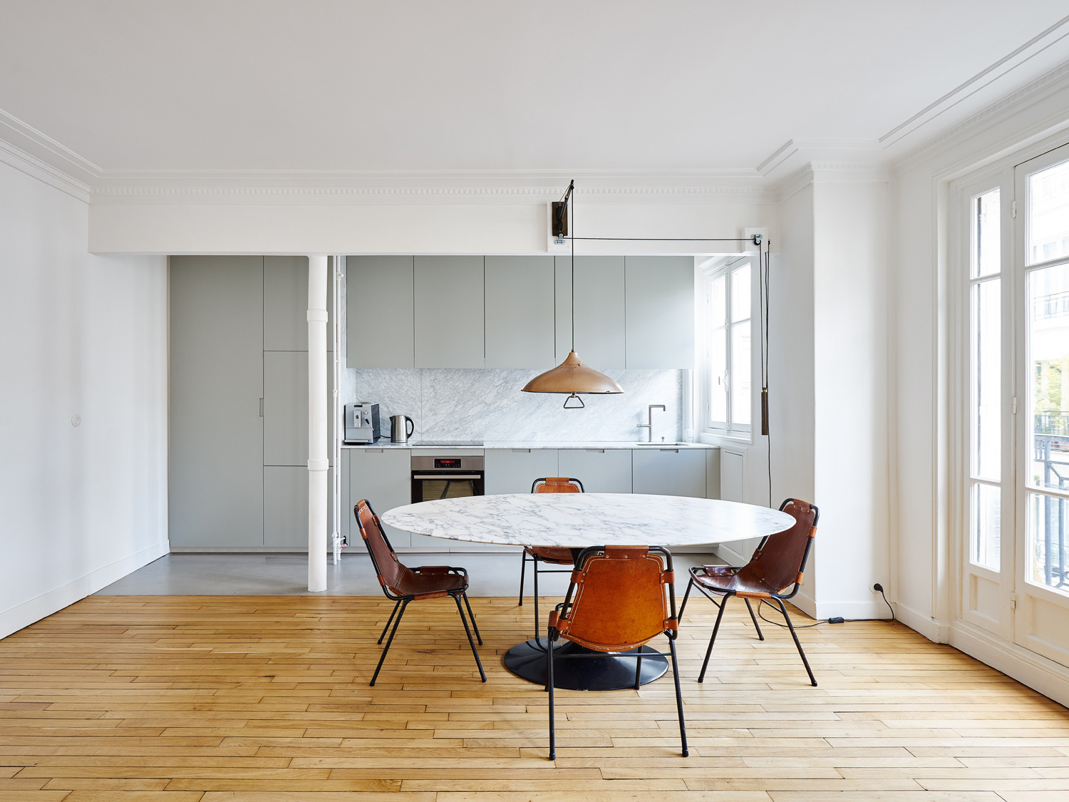 apartment in parisseptembre architecture | yellowtrace