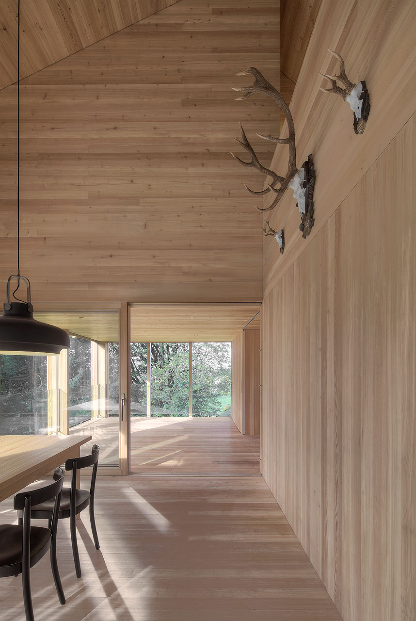Modern Farmhouse In Laterns, Austria By Bernardo Bader Architekten    Yellowtrace