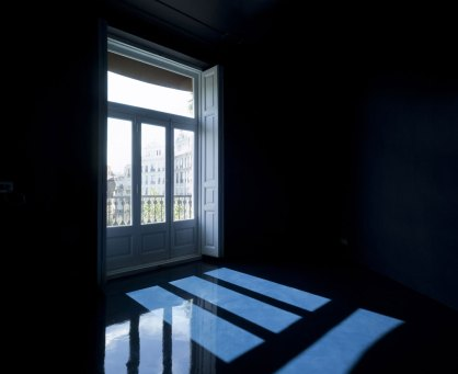 Studio Space in Blue by Antonio Salinas | Yellowtrace
