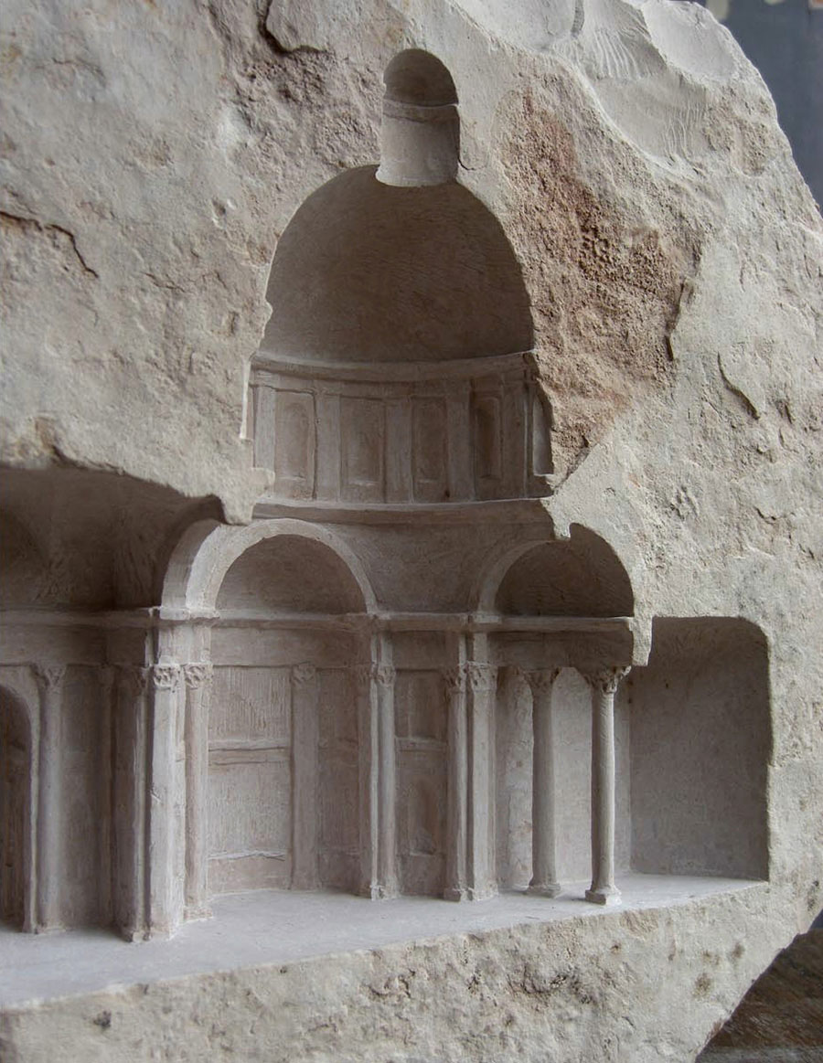Architectural Marble Carvings By Matthew Simmonds