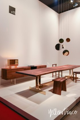 e15 Stand at Salone del Mobile. Photo by Nick Hughes   Yellowtrace