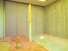 'Slow Graffiti' Installation by Alex Da Corte at Vienna Secession | Yellowtrace