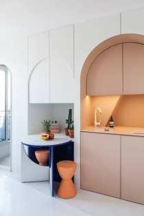 Micro Living: 11-square-metre Apartment in Paris by Batiik Studio   Yellowtrace