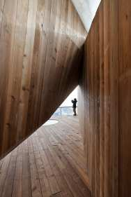 Stage of Forest: Ski Pavilion at Songhua Lake Resort of Jilin, China by META-Project | Yellowtrace