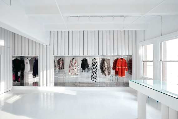 dot COMME Collection Store in Melbourne by Sibling Architecture | Yellowtrace