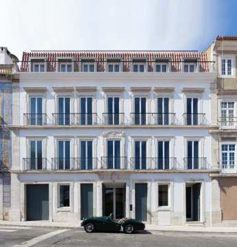 Santa Clara 1728 in Lisboa, Portugal by Aires Mateus | Yellowtrace
