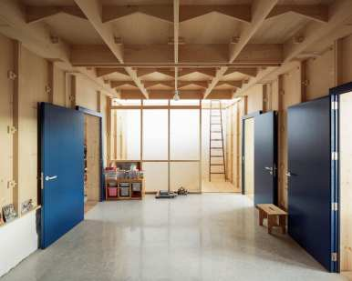 Plywood House in Palma de Mallorca, Spain by SMS Arquitectos   Yellowtrace