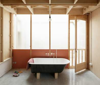 Plywood House in Palma de Mallorca, Spain by SMS Arquitectos | Yellowtrace