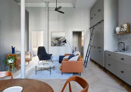 Sarah Wolfendale's Kew Apartment Set Inside a Former Lunatic Asylum | Yellowtrace