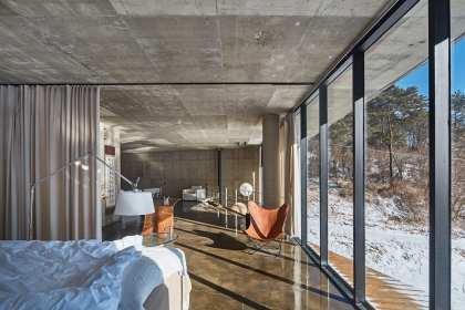 Vila Calando in Yanggu-gun, South Korea by Chiasmus Partners | Yellowtrace