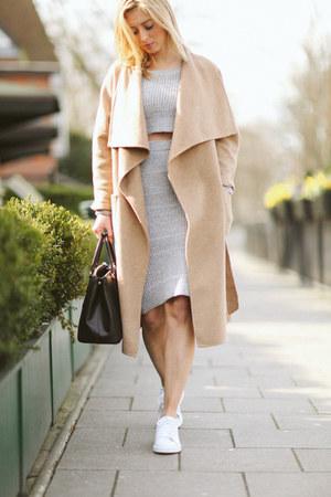Silver Missguided Tops Camel Wool Zara Dresses Black