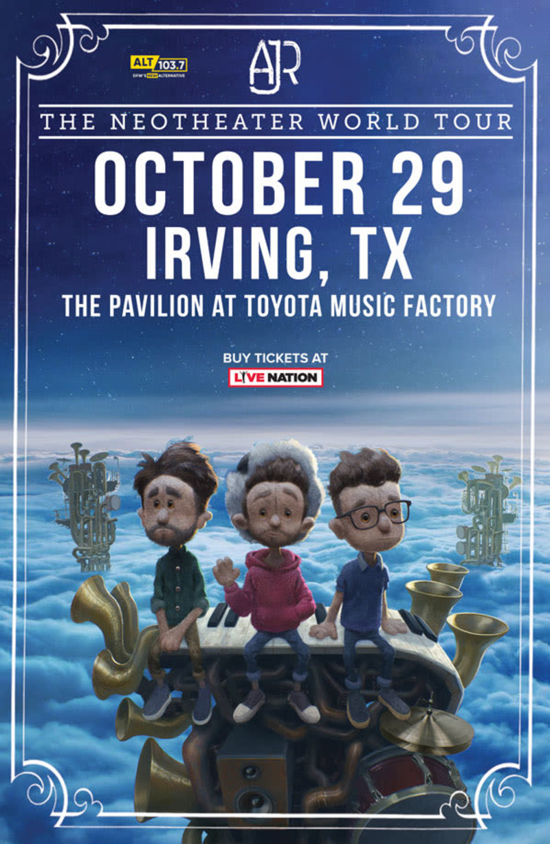 ajr in irving at the pavilion at toyota