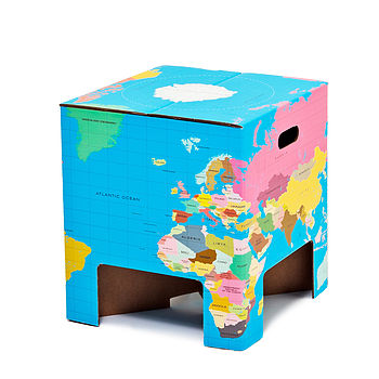 World Globe Table / Stool