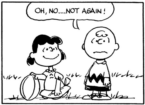 Charlie Brown and the football