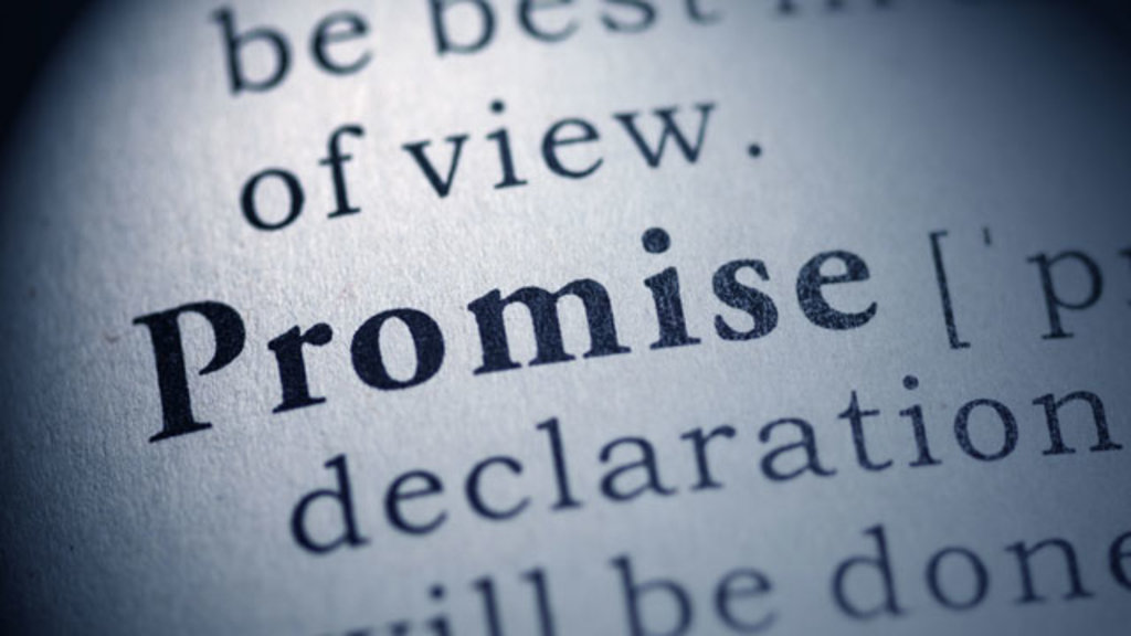 Image result for keeping a promise