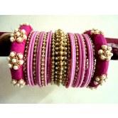 pink-zardosi-and-silk-thread-bridal-bangles