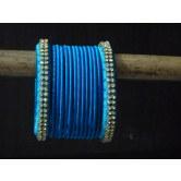 blue-designer-handmade-silk-thread-bangles-with-stones