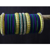 yellow-green-and-blue-designer-silk-thread-party-wear-bangles
