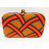 handcrafted-multicolor-bead-work-box-clutch