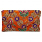 orange-color-evening-party-clutch-with-sequins-tari-handwork-clutches-by-gehna