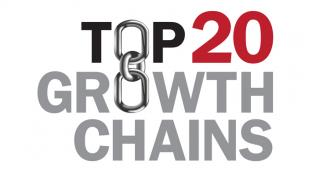 CSNews Top 20 Growth Chains logo