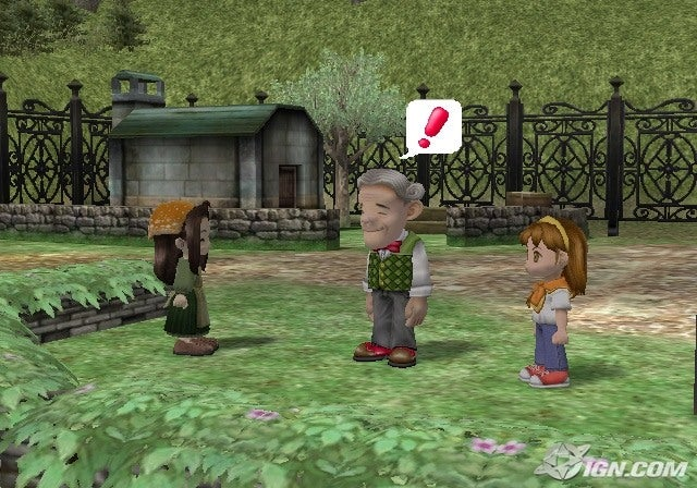 Harvest Moon Another Wonderful Life Screenshots Pictures
