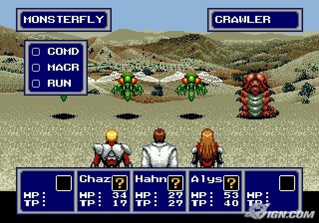 Image result for Phantasy Star IV screenshot