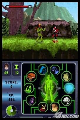 Ben 10 Alien Force Vilgax Attacks Screenshots Pictures Wallpapers Nintendo DS IGN