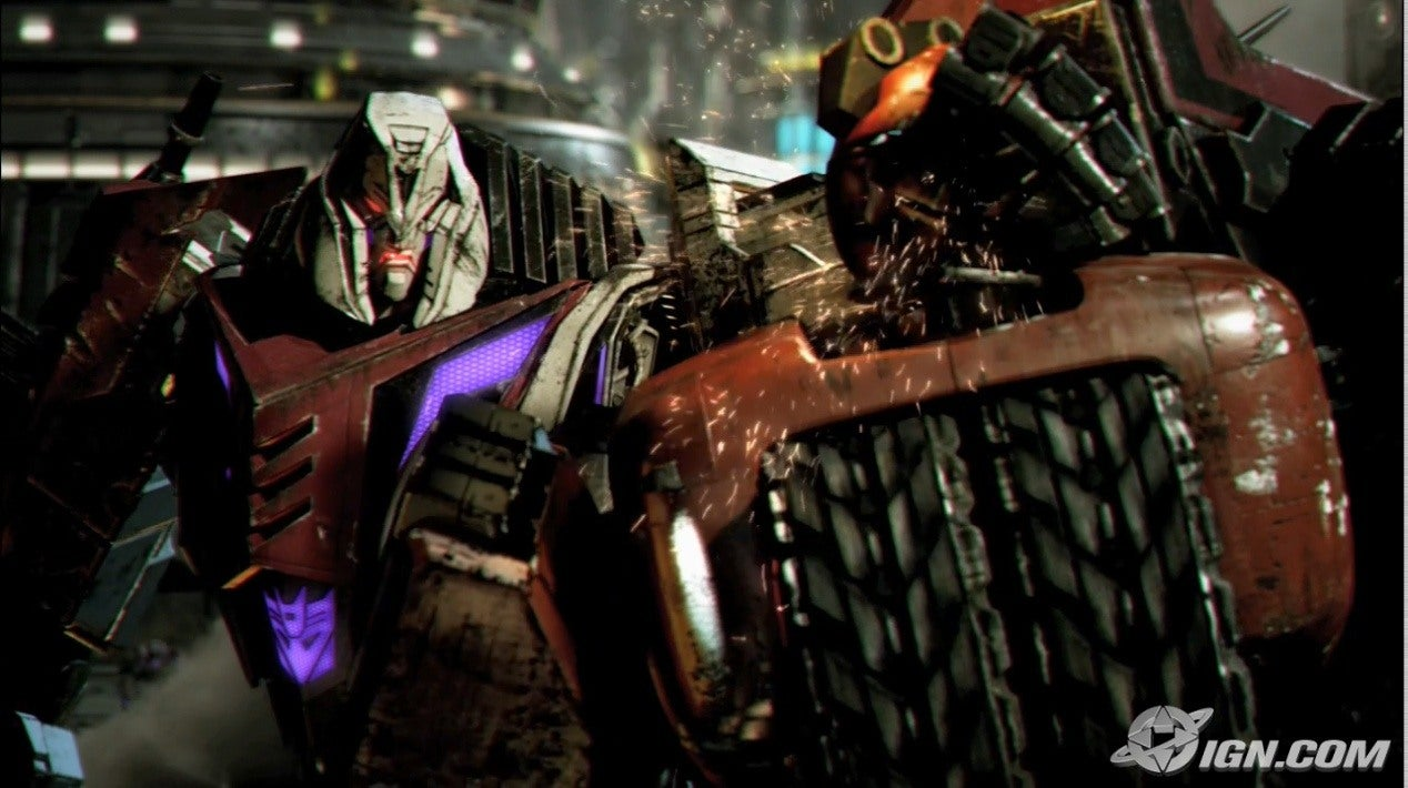 Transformers War For Cybertron Screenshots Pictures