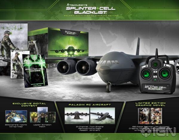 Flying R/C Plane Highlights Splinter Cell Blacklist ...
