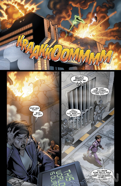 Aquaman 231 Black Manta Preview IGN