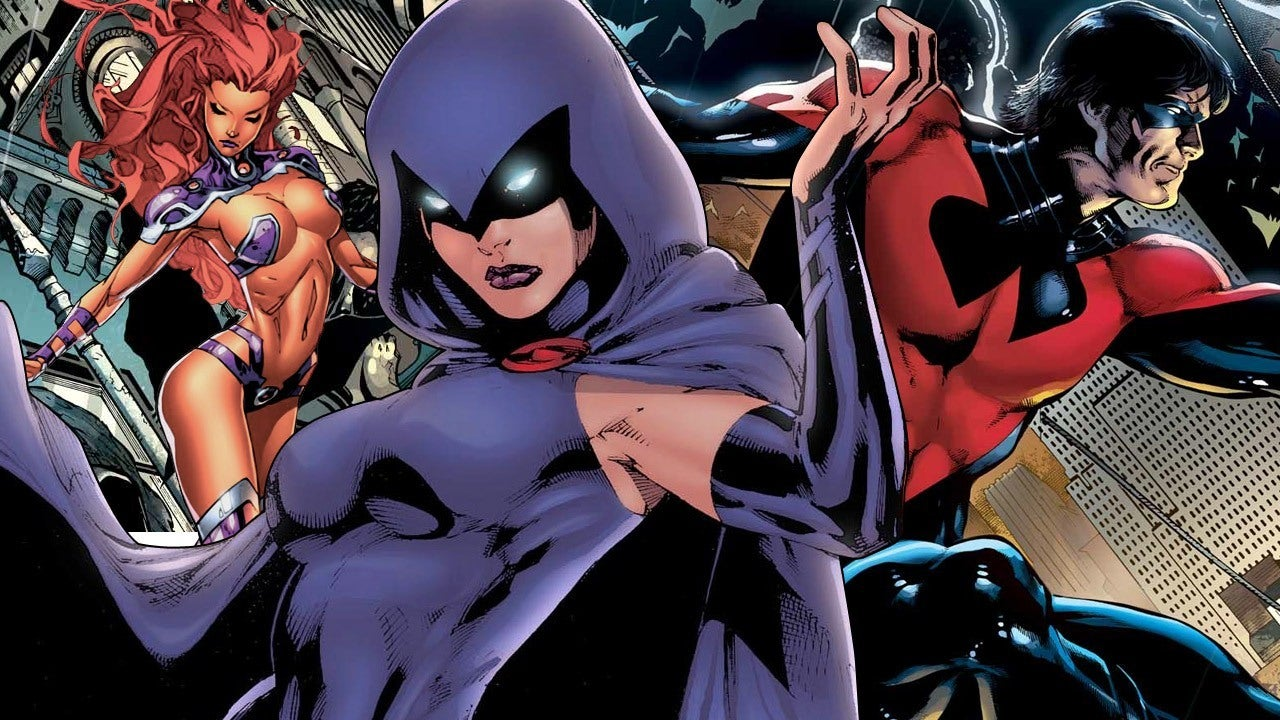 Report The Titans TV Series Line Up Revealed IGN