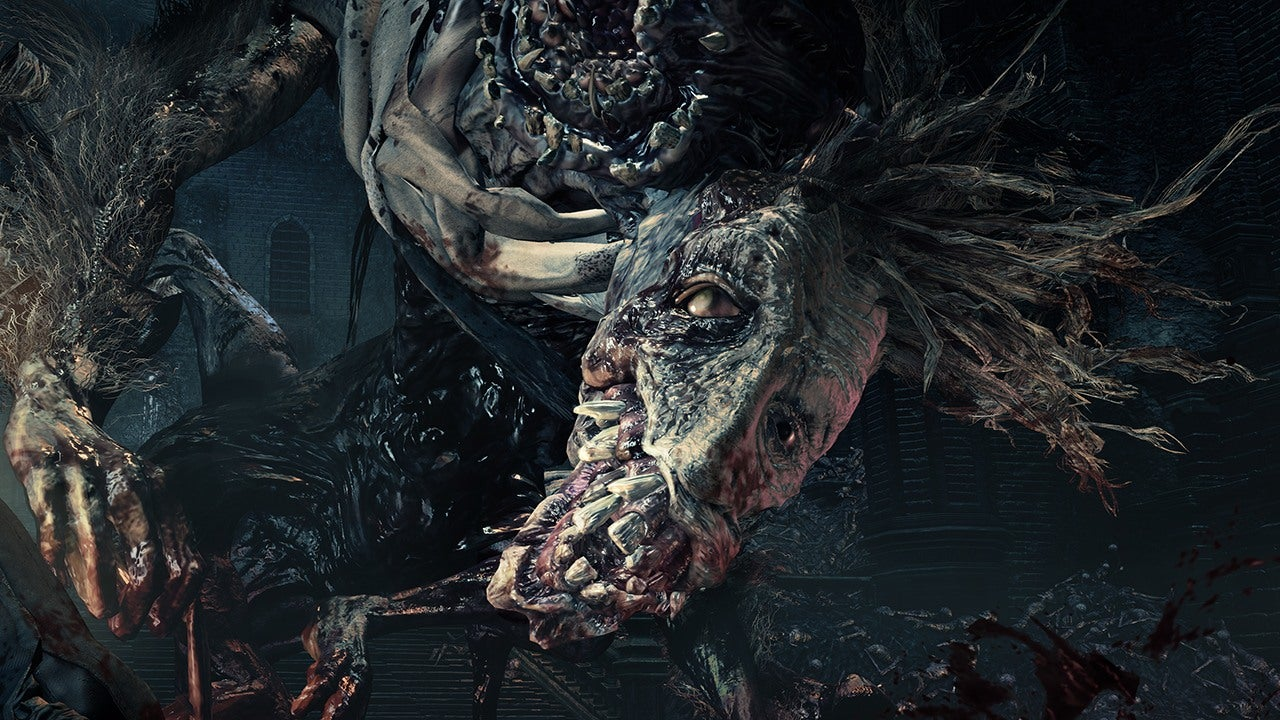 TGS 2015 Bloodborne The Old Hunters Is Gross And Vicious