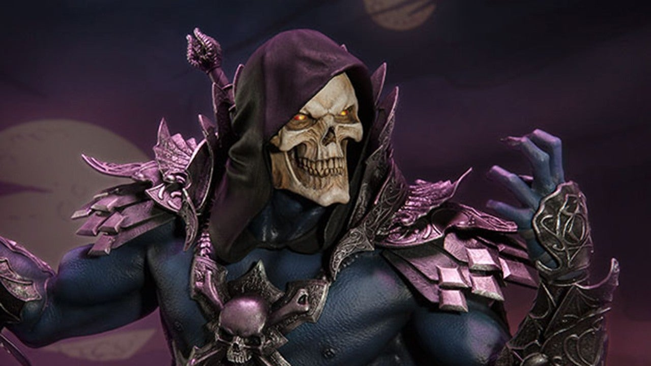 Awesome Sideshow Skeletor Statue Available For Pre Order IGN