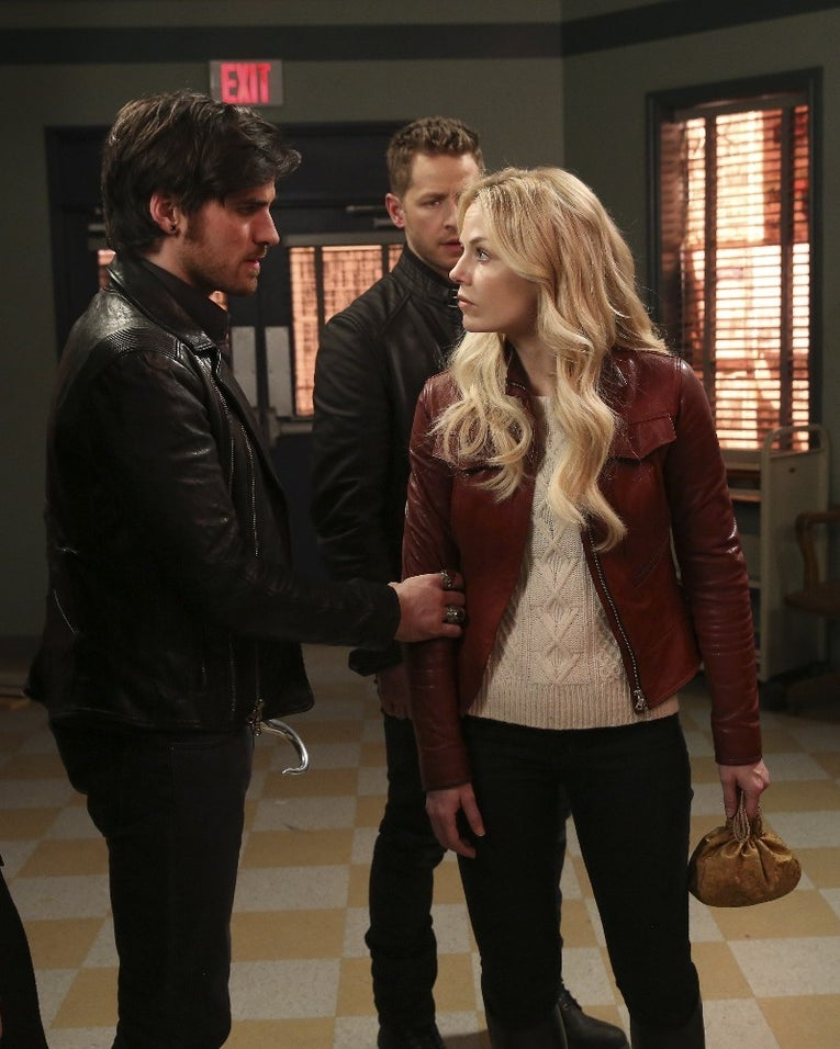 Colin O'Donoghue, Josh Dallas, Jennifer Morrison on Once Upon a Time