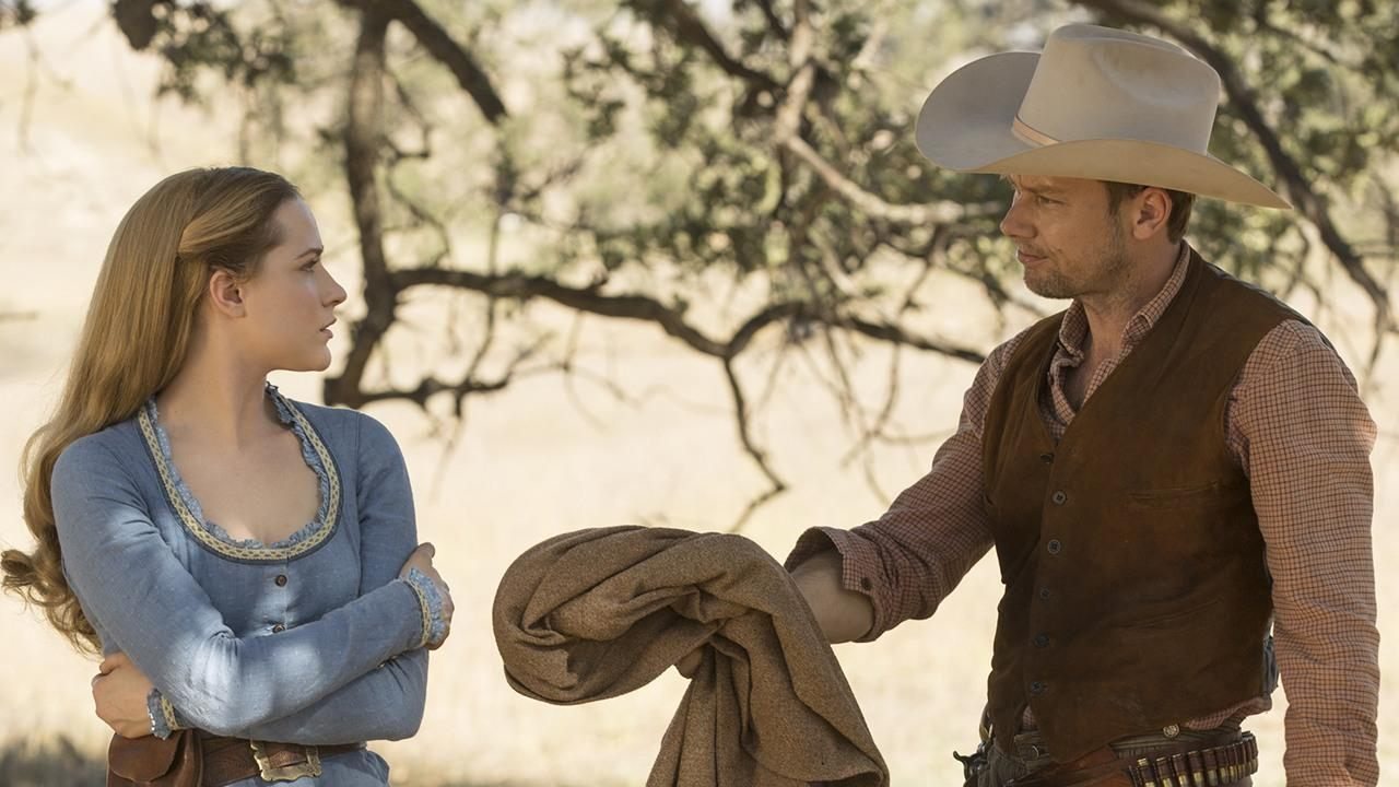 Westworld New Images Show Dolores And William Growing