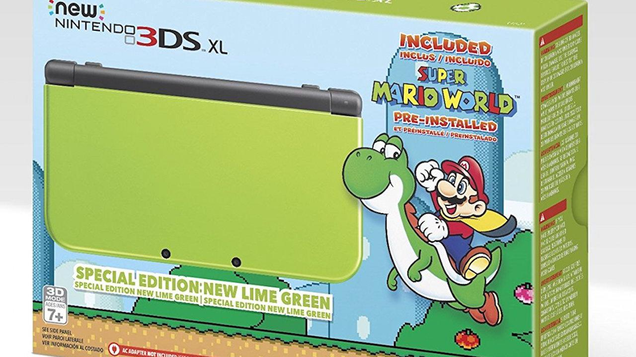 Lime Green New 3DS XL Bundle Includes Super Mario World IGN