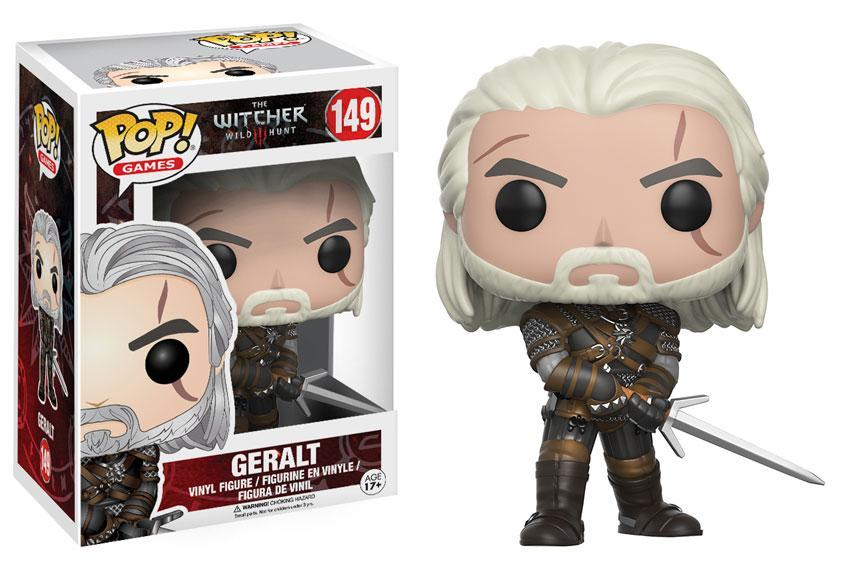 The Witcher Funko Pop Figures Revealed IGN