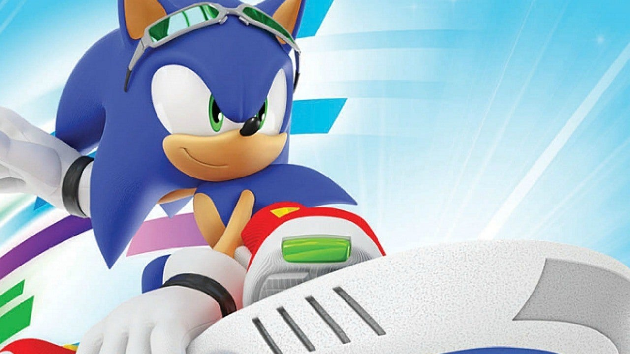 Canceled Sonic Hoverboard Game Sonic Extreme Revealed IGN