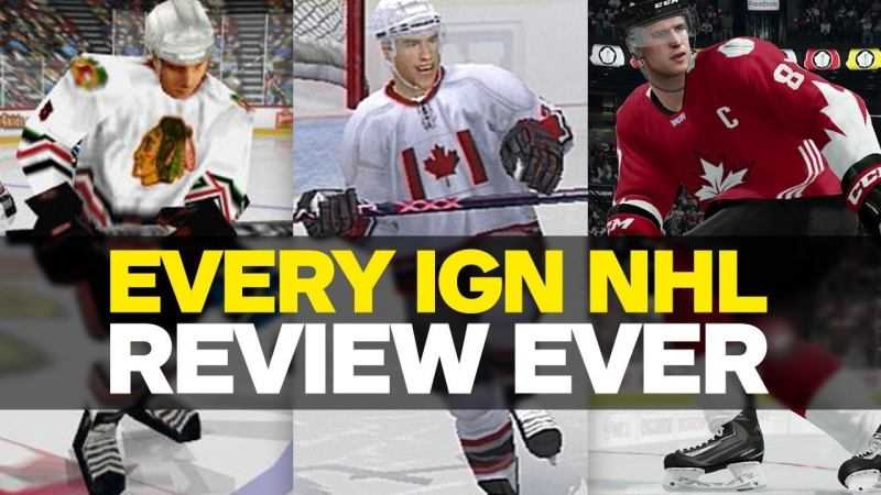 We've been reviewing EA's NHL franchise almost as long as IGN has been around. Here's a look back at every NHL review since 1997.