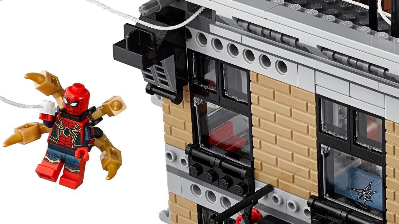 LEGO Avengers Infinity War Line Includes One Of LEGOs
