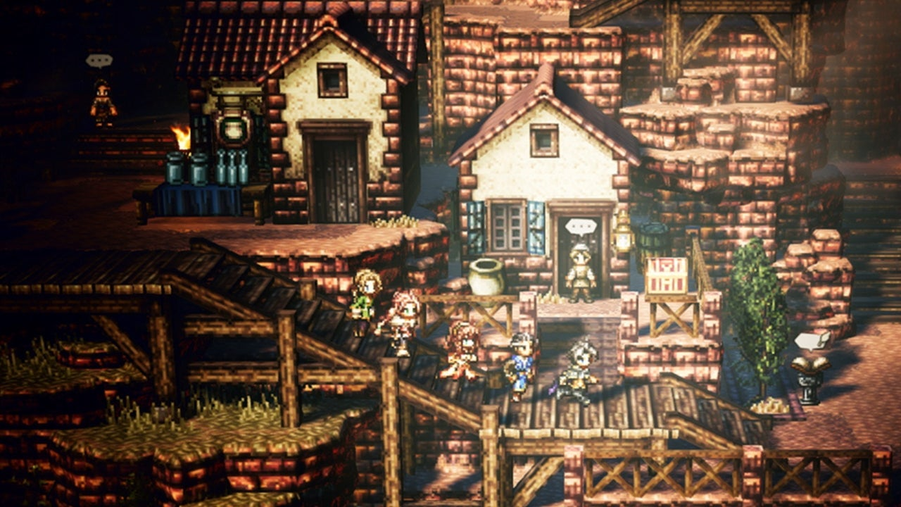 Octopath Traveler Hands On Out On The Town With Cyrus The