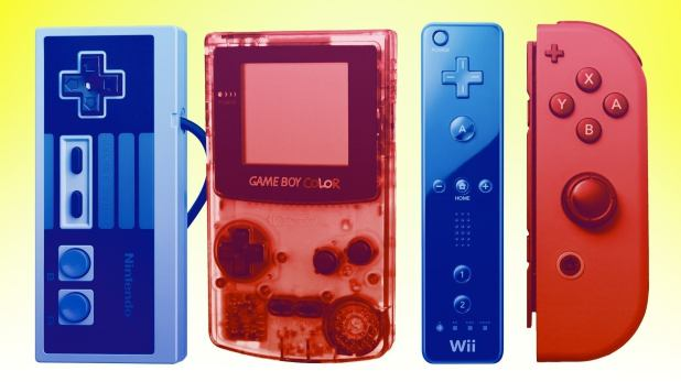 From 1977 to modern day, every piece of hardware here is made of Nintendo.